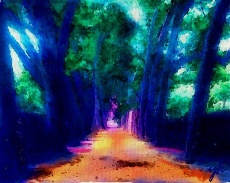 """Blue Trees"""