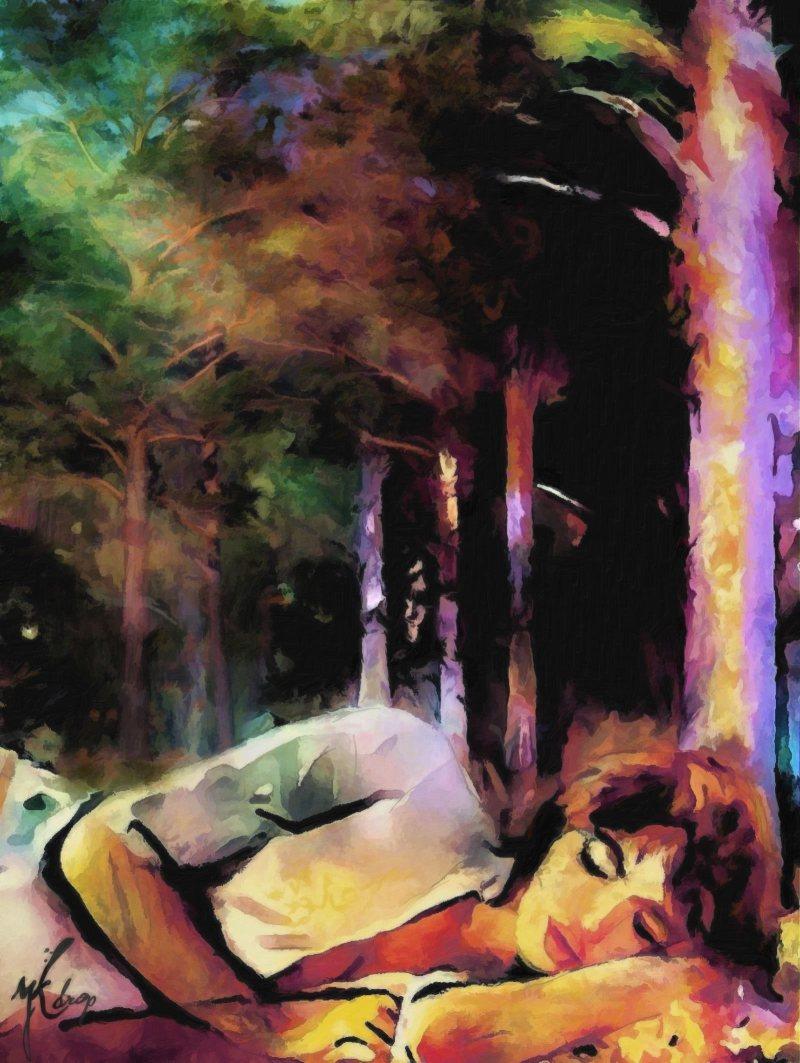 """""""A Dream In Forest"""", 2014-2015, Yuriy Ku Drop"""