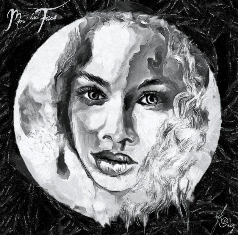 """Moon Had Face To Kiss"", 2014-2015, Yuriy Ku Drop"