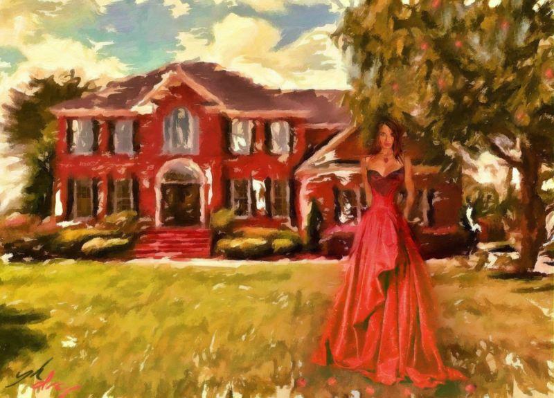 """""""Red House"""", 2014-2015, Yuriy Ku Drop"""