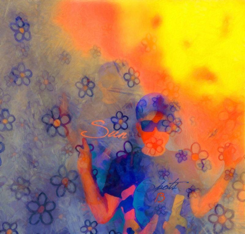 """""""Sun Spots"""", 2015, Yuriy Ku Drop"""
