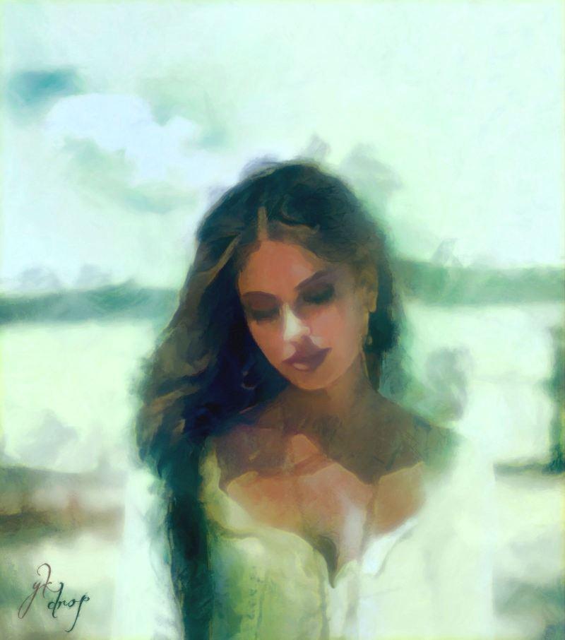 """""""A Healing Kiss"""", 2014-2015, Yuriy Ku Drop"""