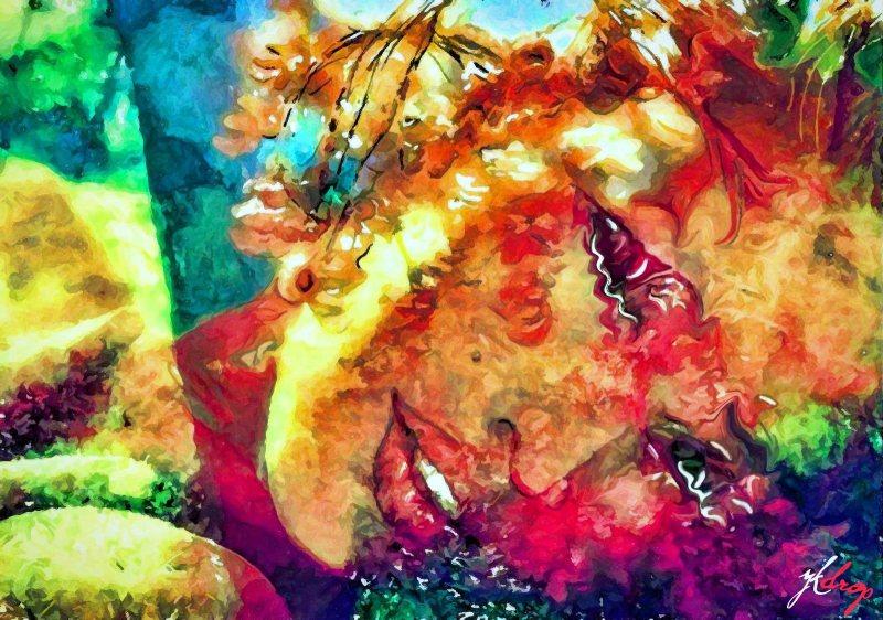 """Ultraviolet Dream"", 2015, Yuriy Ku Drop"