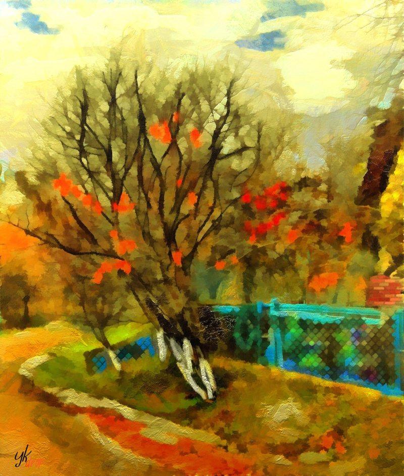 """""""Dating Tree"""", 2015-2016, Yuriy Ku Drop"""