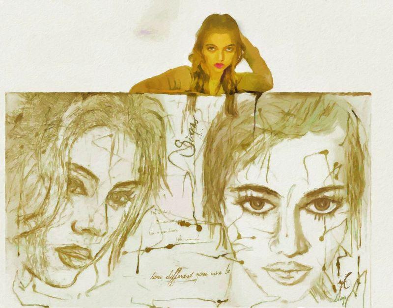 """""""Different The Same"""", 2015-2016, Yuriy Ku Drop"""