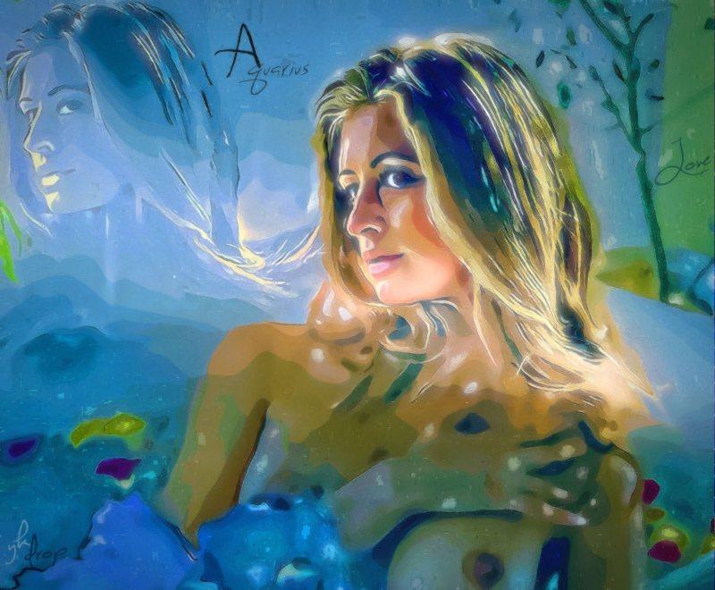"""Love For Aquarius"", 2015-2016, Yuriy Ku Drop"
