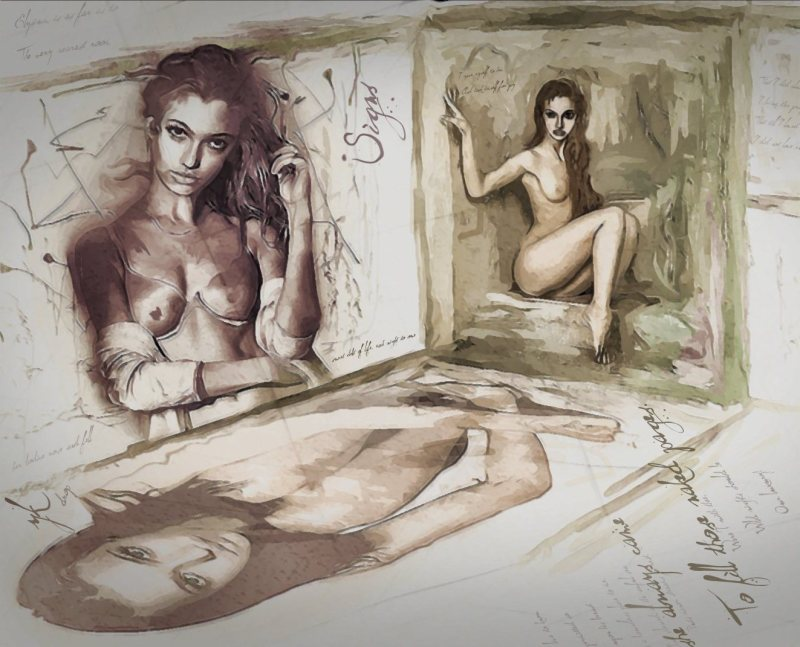"""""""Naked Pages"""", 2015-2016, Yuriy Ku Drop"""