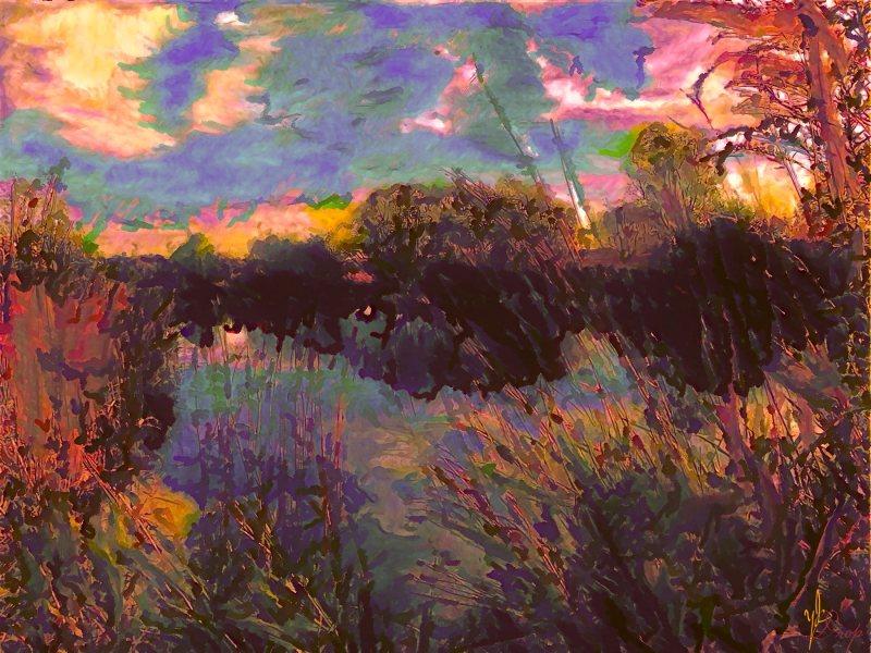 """Yesterday's Eventide"", 2016, Yuriy Ku Drop"