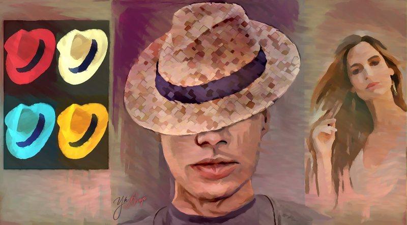 """Mad Hatter In Manhattan"", 2015-2016, Yuriy Ku Drop"