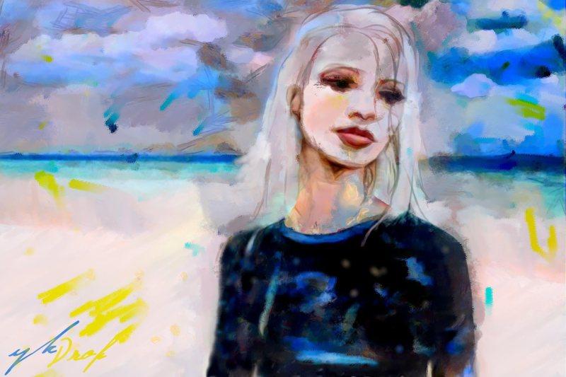 """Sky Surfer"", 2015-2016, Yuriy Ku Drop"