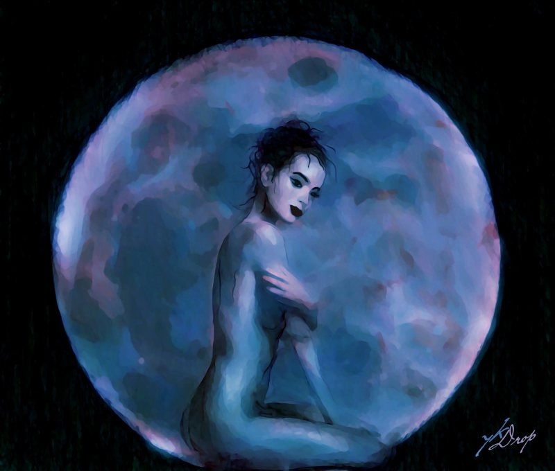 """""""Orient Moon"""", 2016, Yuriy Ku Drop"""