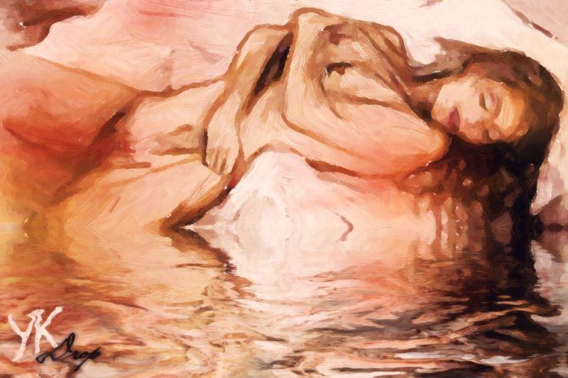 """Summer Siesta"", 2016, Yuriy Ku Drop"
