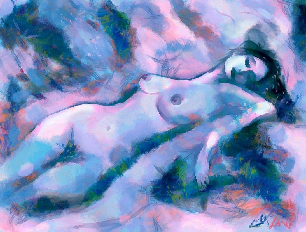 """""""Venus At Dawn"""", 2016, Yuriy Ku Drop"""