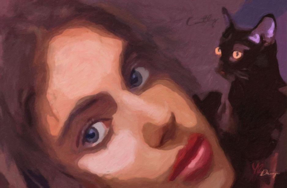 """""""Katty"""", 2016, Yuriy Ku Drop"""
