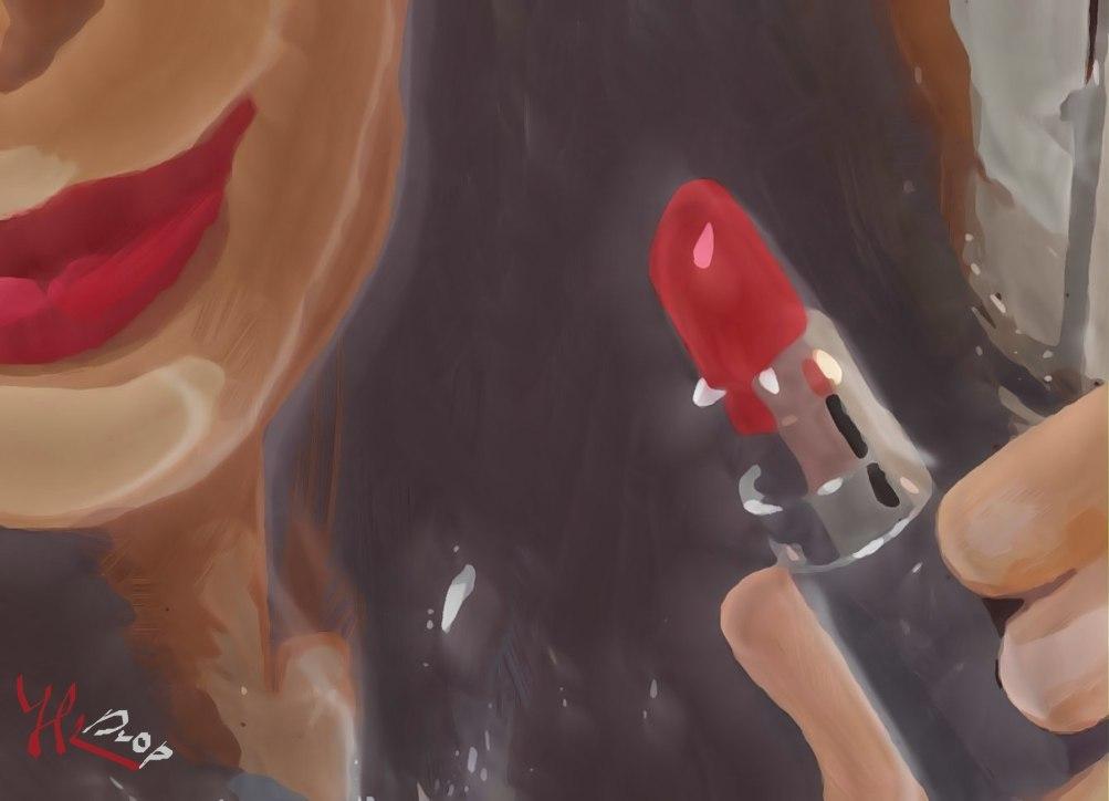 """""""Lipsbrush"""", 2016, Yuriy Ku Drop"""