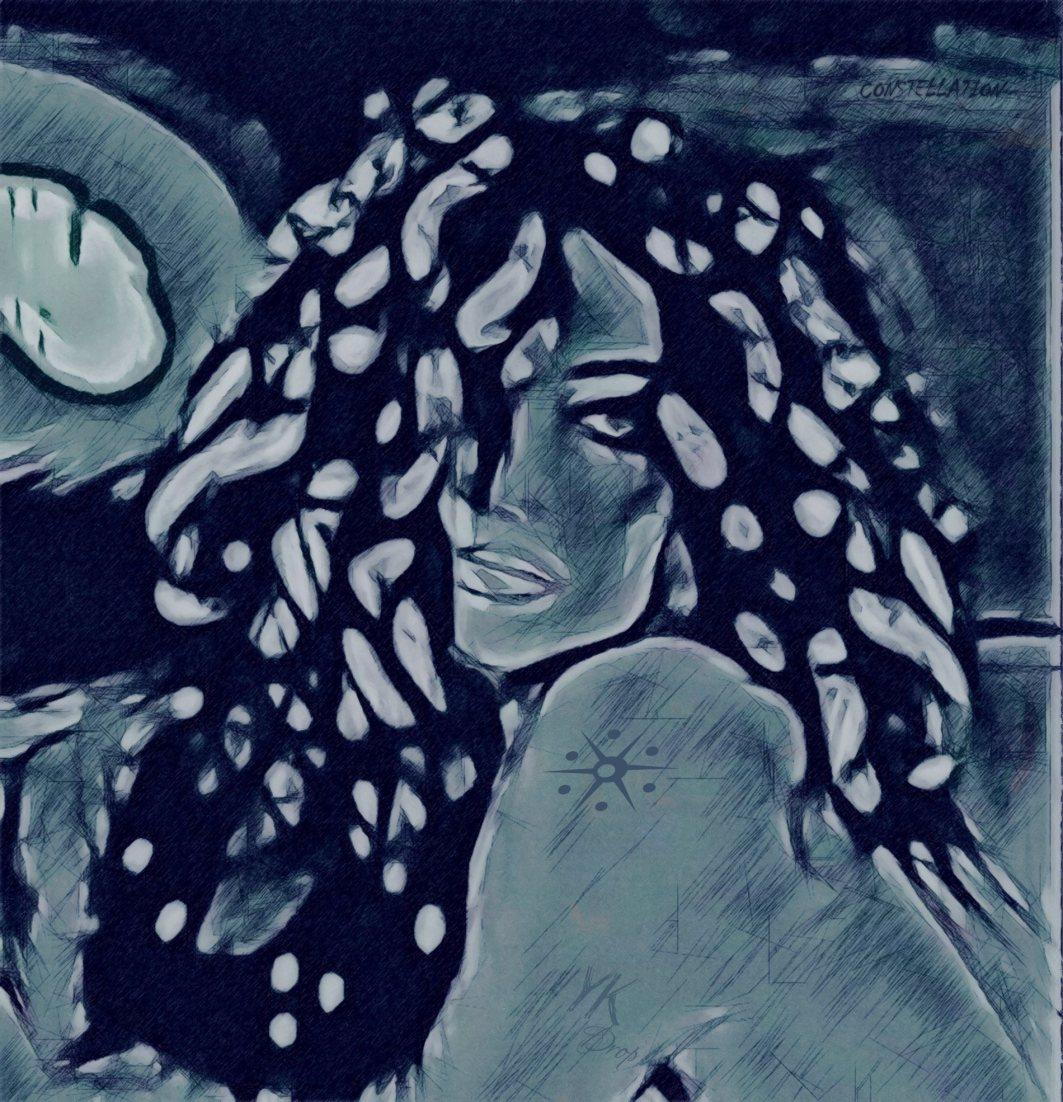 """Summer Constellation"", 2016, Yuriy Ku Drop"