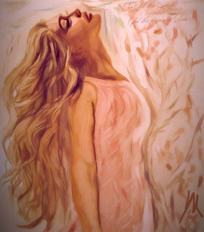 """Marilyn's Autumn Dress"", 2016, Yuriy Ku Drop"