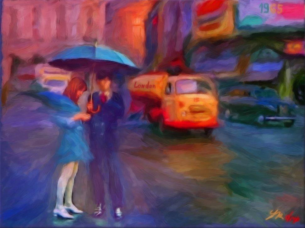 """Rain Coats"", 2015-2016, Yuriy Ku Drop"