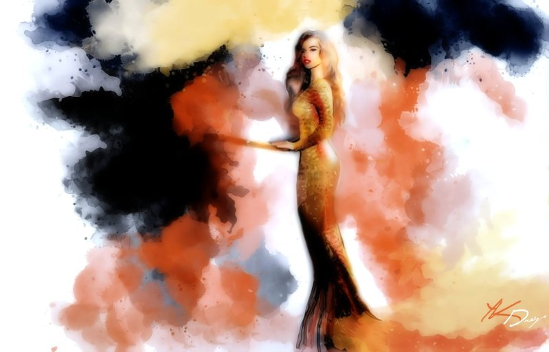 """Dress The Night"", 2016, Yuriy Ku Drop"