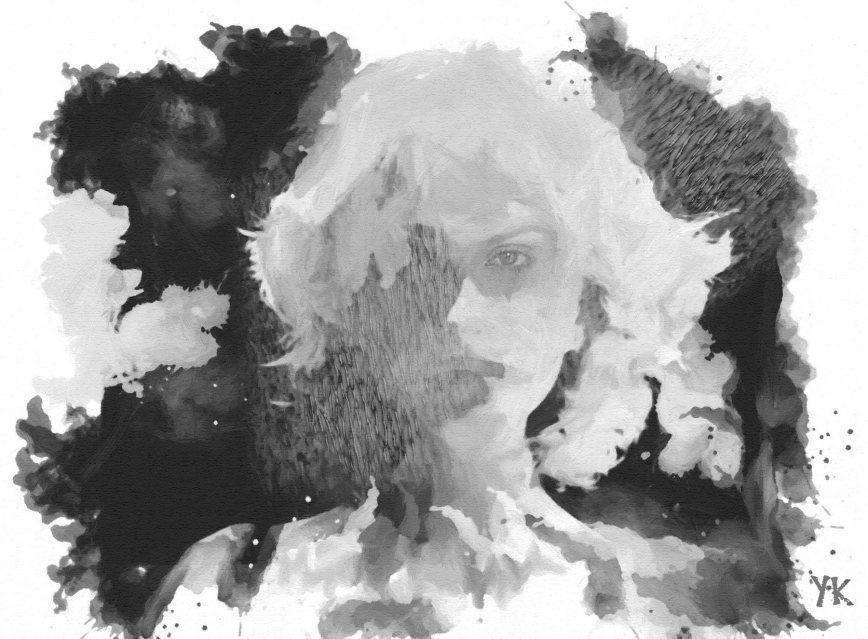 """""""Snow Veil"""", 2016, Yuriy Ku Drop"""