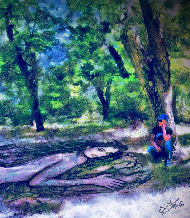"""A Lawn"", 2016-2017, Yuriy Ku Drop"
