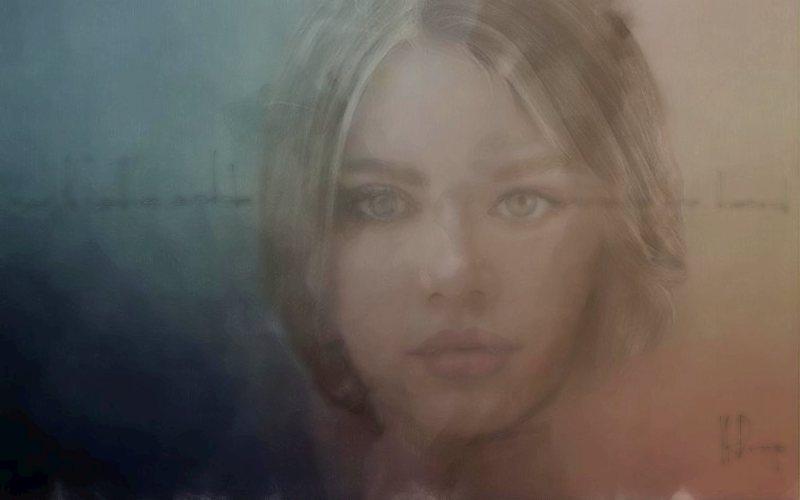"""""""As If She Said"""", 2017, Yuriy Ku Drop"""
