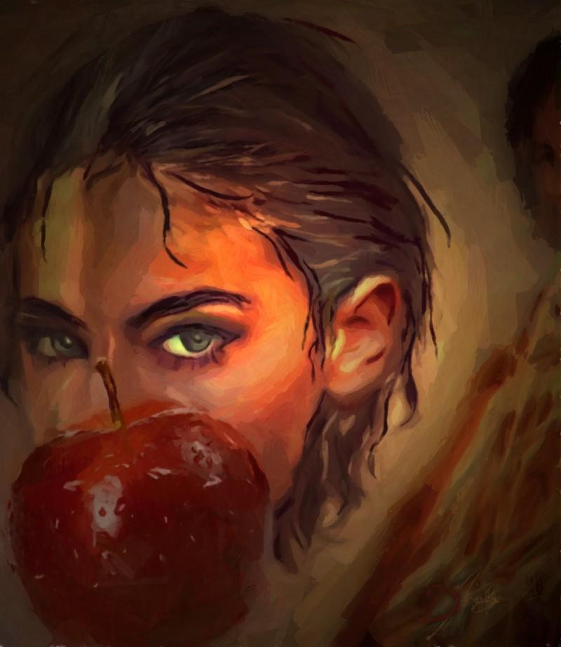 """Fresh Apple"", 2016-2017, Yuriy Ku Drop"