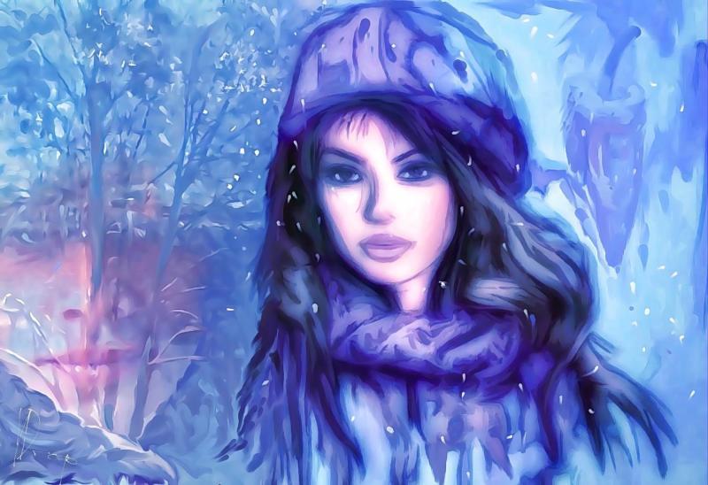 """""""When Winter's Over"""", 2017, Yuriy Ku Drop"""