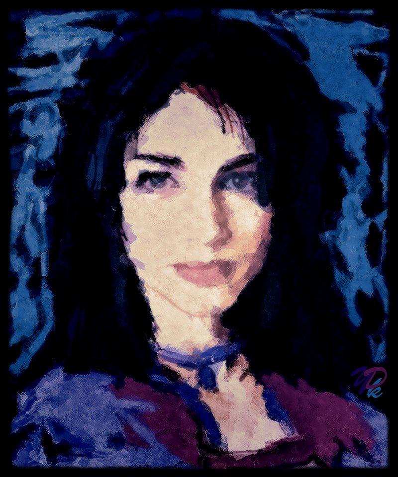 """Emily Dickinson"", Portrait"
